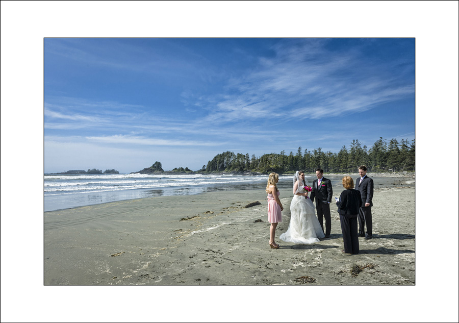 Tofino Long Beach Lodge Wedding photo M&D1