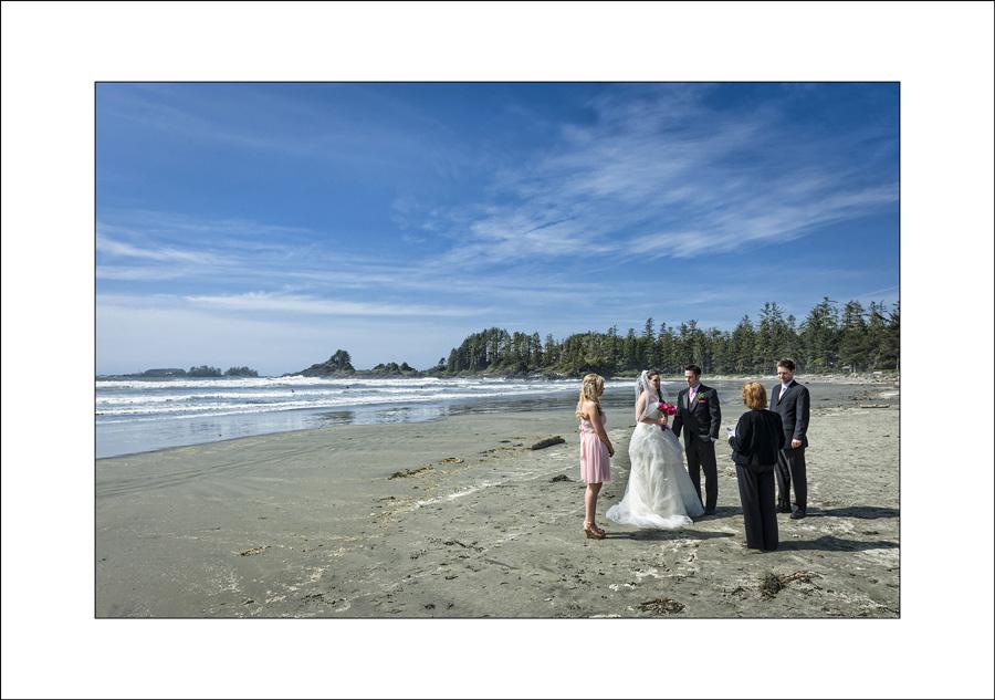 Tofino Long Beach Lodge Wedding photo M&D1
