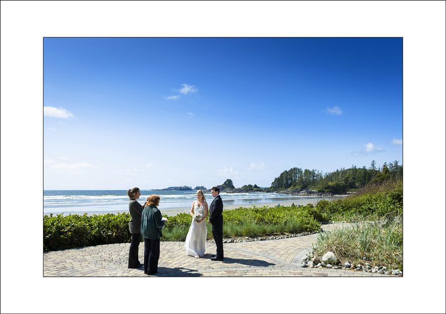 Tofino Long Beach Lodge Wedding photo Jen & joel 1