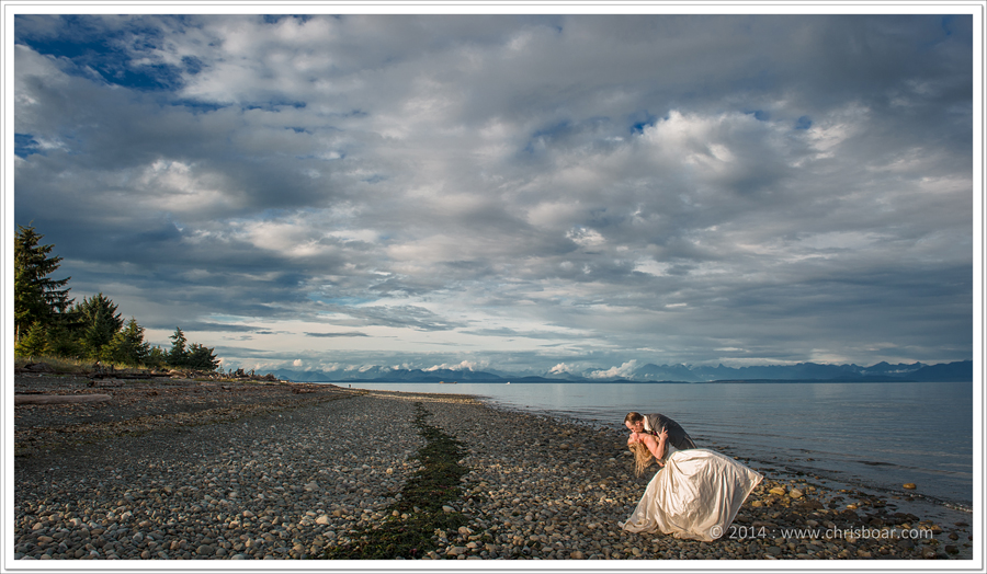 bride-groom-beach-campbell-river